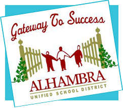 Logo of the Alhambra Unified School District