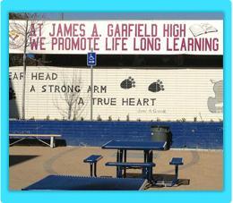 Front of Garfield High school