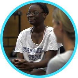 Photo of a smiling Albemarle student
